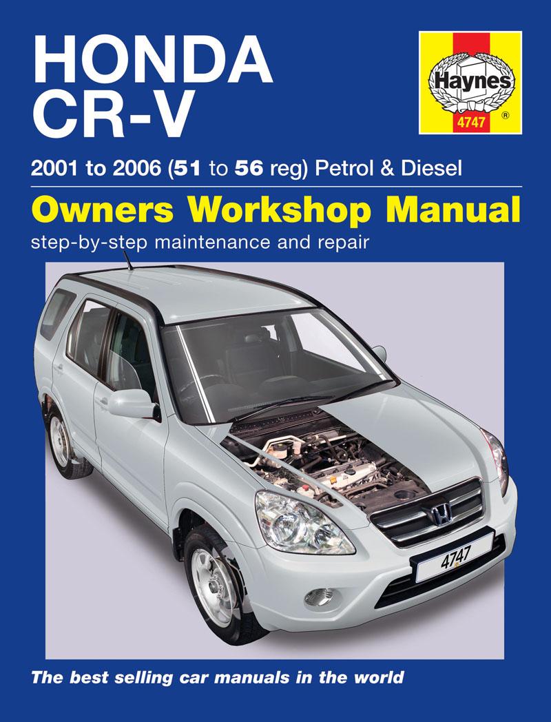 ... Workshop Manuals :: Haynes Workshop Car Repair Manual Honda CRV 97 on